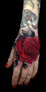 the 25 best rose hand tattoo ideas on pinterest hand tattoos