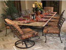 wrought iron dining room sets kitchen wrought iron outdoor dining table wrought iron dining