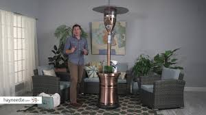 patio heaters review red ember brunson copper plated patio heater product review