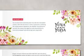 membuat undangan sendiri di rumah undangan pernikahan unik cetak murah online simple elegan