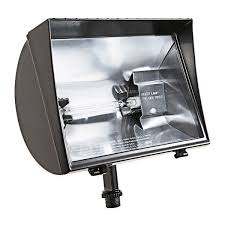 500 watt halogen light rab qf500f 500 watt quartz halogen roundback flood fixture 120