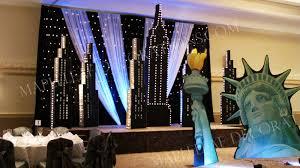 theme decor mapleleaf decorations corporate events decorations winter