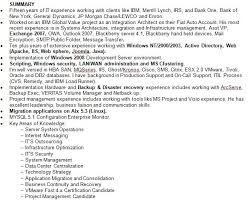Resume With Summary Professional Summary Resume Examples Nice Design Professional