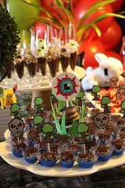 terraria eye cupcake toppers terraria party decoration