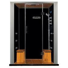 black shower enclosure for elegant bathroom corner great corner