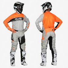 neon motocross gear a2 sidestacked grey neon orange