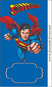 Invitation Card Superman 269 Best Superman Printables Images On Pinterest Party Superman