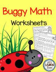 bugs and insects math worksheets end of the year activities math