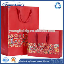 bag new year luxury new year packaging paper bag with handle buy