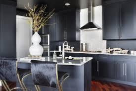 tabouret design cuisine design interieur cuisine bois mobilier bois noir tabouret