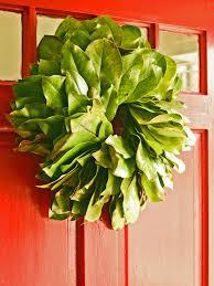 fresh wreaths how to make a fresh magnolia wreath hgtv