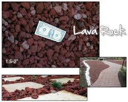 lava rock brentwood material