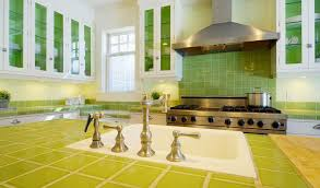 green kitchen tile backsplash tile countertops make a comeback your options