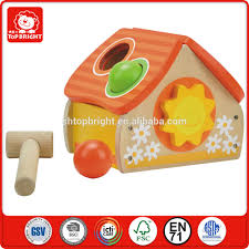 funny diy custom educational games for kids 6 years wooden house