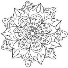 free coloring pages print mandalas pintar