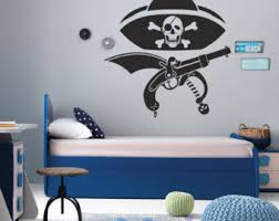Kids Room Wall Stickers by Pirate Wall Decals Etsy