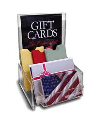 gift card display gift card displays a variety of options gift card supply store