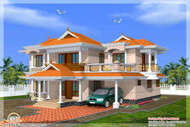 kerala home design and floor plans beautiful yellow color villa
