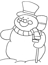 snowman coloring pages 2 coloring pages kids