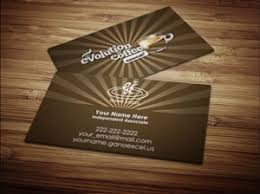 business card exle gano excel business card design 3