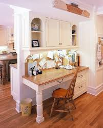 Hanging Pot Rack In Cabinet by New York Mission Style Desk Kitchen Traditional With Built In