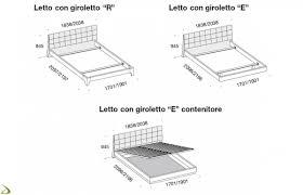 Quanto Misura Un Letto Singolo by Dimensioni Di Un Letto Singolo Misure Letto Singolo Classico