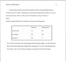 how to cite a table in apa q how do i put my data in table form into my paper in apa style