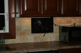 under cabinet tv mount swivel under cabinet tv cool small kitchens with tv the kitchen dahab