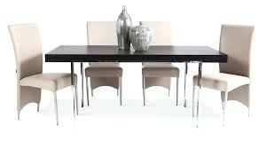 Round Espresso Dining Table Contemporary Round Glass Ruth Dining Table Choice Of Chrome Or