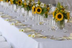 sunflower centerpieces tgiff wedding flower guide sunflowers ct wedding florist