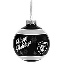 oakland raiders nfl ornaments ebay