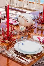 classic sail yacht croce sud table setting u2013 luxury yacht