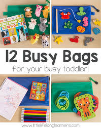 25 unique toddler busy bags ideas on learning