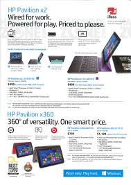 hp pavilion x2 brochures from cee 2015 singapore on tech show