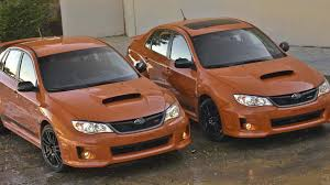subaru minivan 2013 2013 subaru wrx and wrx sti special editions pricing announced us