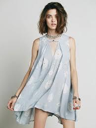 light blue shift dress qoo10 light blue shift dress print cut out high low chiffon dress