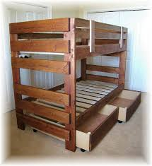 Fascinating Pallet Bunk Beds 17 Pallet Loft Beds How To Build by 28 Best Bunk Beds Customers Built Images On Pinterest Triple