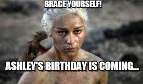 Brace Your Self Meme - brace yourself khaleesi meme on memegen