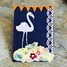 aliexpress com buy flamingo scrapbook diy album card paper card
