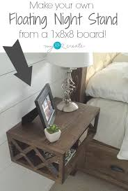 night stand ideas build a diy floating night stand with a double x pattern using a