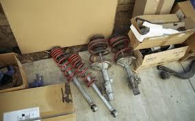 nissan sentra lowering springs ca s13 kyb tanabe springs u0026 s13 tanabe rear swaybar nissan
