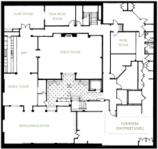 dining room floor plan tour caribou club