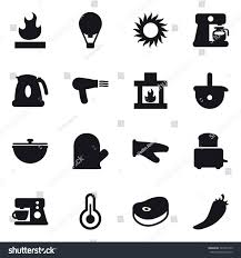 16 vector icon set air ballon stock vector 725974129 shutterstock