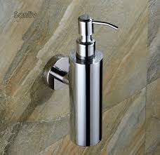 New Stainless Steel Soap Dispenser By Bathroom Accessories