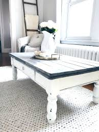 chalk paint coffee table coffee table chalk paint coffee table farmhouse makeover gray wood