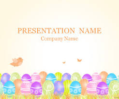 easter powerpoint template templateswise com