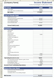 9 income statement templates word excel pdf formats