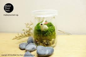 event terrarium booth mini moss terrarium