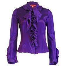 purple blouses louisa ortiz purple silk blouse polyvore