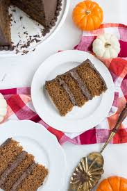 pumpkin cake recipe with fluffy chocolate frosting glitter inc
